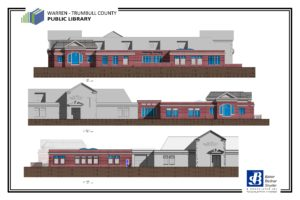 Warren Library Proposed Architectural Elevations