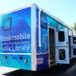 Bookmobile Back Corner View