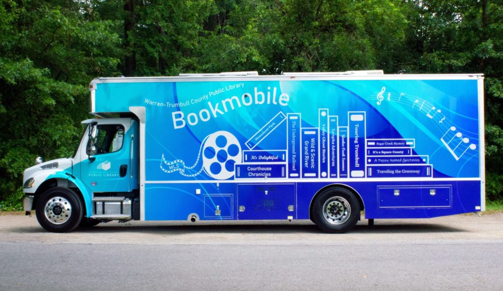 Bookmobile Drivers Side View