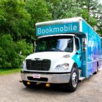 Bookmobile Front Angle View