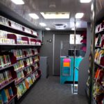 Bookmobile Interior Side View